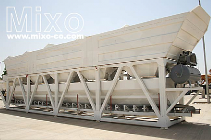 Aggregate Weighing Feeder Model: MFB07