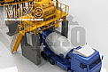 Stationary Concrete Batching Plant Model: MBT150