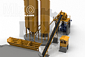 Stationary Concrete Batching Plant Model: MBT310