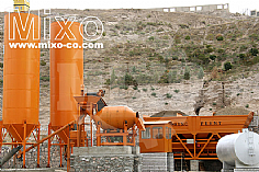 Stationary Concrete Batching Plant Model: MBW146