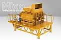 2 m³ Concrete Twin Shaft Mixer Model: MTW04