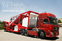 Mobile Concrete Batching Plant Model: MTS460