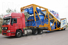 Mobile Concrete Batching Plant Model: MTW410