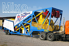 Mobile Concrete Batching Plant Model: MTW470